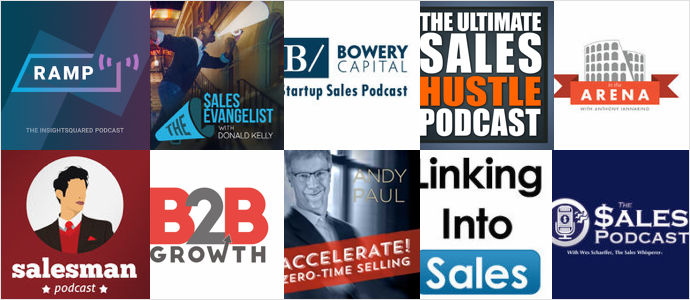 Top 10 Podcasts For Sales Professionals and Leaders – updated for 2016