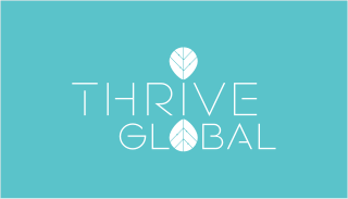 thrive global pitch deck