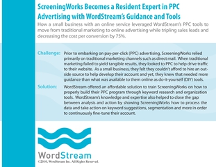 Wordstream case study